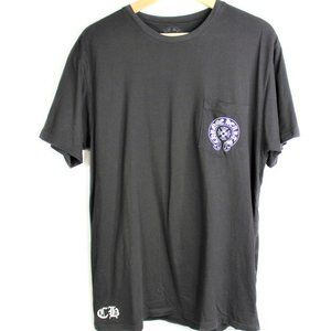 Chrome Hearts Pocket Tee Spell Out Logos Shirt Men